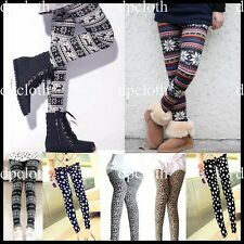2012 Hot 5 Pattern Footless Stylish Leggings Tights Autumn/Winter legs warmer