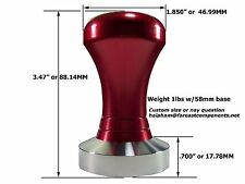 Large Red Coffee Tamper Precision Tamper Maker Espresso Machine Less than 300 W
