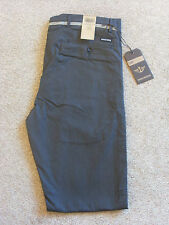 Men's Levi D0 Dockers flat front extra slim grey chino trousers **CHOOSE SIZE**