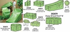 Patio Furniture Covers, Reinforced Polyethylene, Protect From Rain, Wind, Dirt