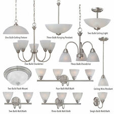 Brushed Nickel Ceiling Pendant Light Fixture Chandelier Bath Vanity Light Bar