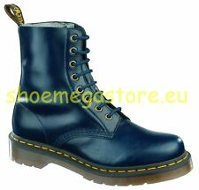 Original Classic Doc Dr Martens 8 Loch Pascal Dress Blues 13512204