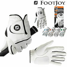FOOTJOY GTX WEATHERSOF GOLF GLOVES *3 GLOVE DEAL* MENS GOLF GLOVE WHITE NEW 2012