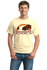 ANOTHER BEAUTIFUL DAY IN KEYPORT, NJ Retro Adult Unisex T-shirt. New Jersey Cit