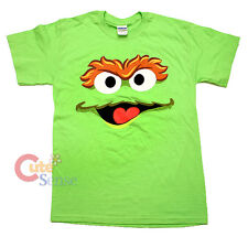 Sesame Street Elmo Oscar Face T Shirts Men's Woman Small Size Tee