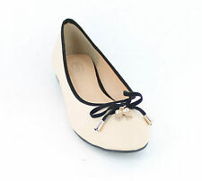 "LADIES SPOT ON NUDE FLAT SHOES ""F8906"""