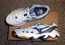 Mizuno Wave Rally 2 Women's Volleyball Shoes NIB White/Blue/Silver Various Sizes