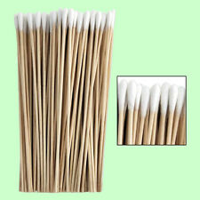 "Extra Long Wood Cotton Swabs Swab 6"" Wooden Handle Makeup Applicator Q-tip Stick"