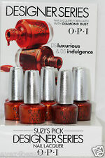 OPI Nail Polaish Lacque Designer Series DS Luxurious DS 043 DS Indulgence DS 042