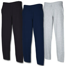 Fruit of the Loom Open Leg Pants Jogginghose Sporthose in 3 Farben S bis XXL