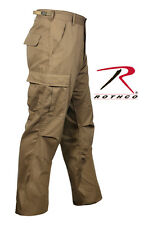 POLICE US MILITARY ARMY MARINES USMC BDU COYOTE BROWN TAN TACTICAL LONG PANTS