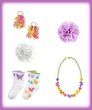 Gymboree Butterfly Blossoms NWT CSHIP 4FREE Hair Socks Necklace 5 6 7 8 9 10 12