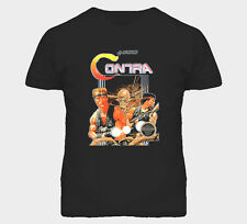 Contra Nes Classic Video Game Box Art T Shirt