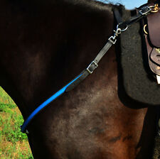 * Draft Horse Size* ANY 2 COLORS English BREAST COLLAR Beta Biothane Trail Show