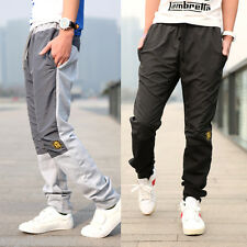 Men's Sport Fashion Jogging Sweat Pants Korean Casual Slim Fit Trousers Slascks