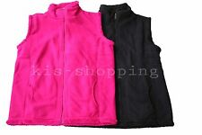 Ladies Thick Winter Bonded Fur Polar Fleece Jacket Vest Size 18-24 (8104)