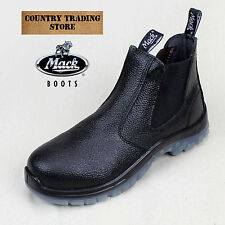 MACK Boots Tradie Steel Toe Work Boot - AUS Mens Sizing