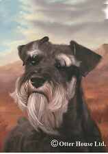 Schnauzer (Natural Ears): House Flags and Garden Flags. Available in two sizes