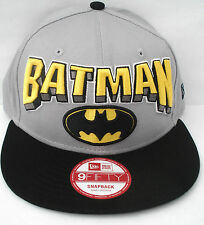 Batman Hero Block 9Fifty Snapback Cap  New Era (Grey-Black)