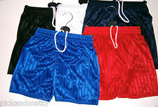 BOYS-GIRLS PE SHORTS SPORTS/GAMES;  from 3 TO 12 YEARS  5 COLOURS