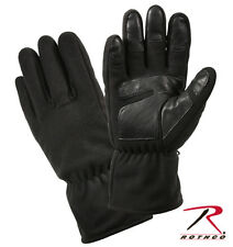 Rothco US Army Military Marines USMC MICRO FLEECE ALL WEATHER BLACK WARM GLOVES