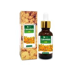 CALENDULA OIL 100% NATURAL PURE UNDILUTED UNCUT CARRIER OILS 5ML TO 100ML