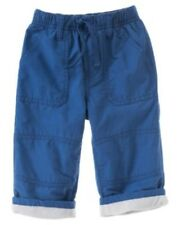 GYMBOREE ICE HERO BLUE ACTIVE LINED PANTS 3 6 NWT