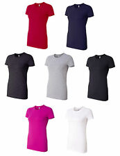 Bella Ladies Made In The USA T-Shirt, Choose from S-2XL  (6004U)