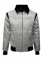 NEW DRIVE GOLD SCORPION Men's SATIN BLACK & BEIGE Ryan Gosling Film Movie Jacket