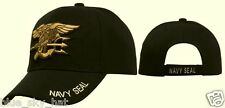 DELUXE U.S. NAVAL NAVY USN SEAL TEAM UNIT WARFARE TRIDENT INSIGNIA CAP HAT COVER