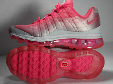 NIKE AIR MAX 95 360 PLATINUM PINK GREY SZ: 4.0 - 6.0 YOUTH RARE ONLY ONE IN EBAY