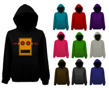 Mens LMFAO Robot Head Face Logo Pullover Hoodie NEW UK XS-XXL