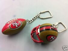 San Francisco 49ers NFL Football Lil Sports Brat Keychain Collectible Gift