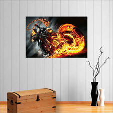 GHOST RIDER WALL ART POSTER