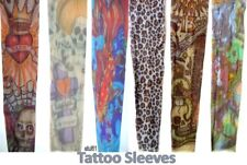 CHILDREN/KIDS FAKE TEMPORARY TATTOO SLEEVE STRETCHY TIGHT MATERIAL FANCY DRESS