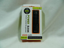 New 2600 mAh Portable Flash Charger Mobile Phone Tablets MP3  External Battery