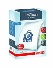 GENUINE MIELE GN HYCLEAN VACUUM HOOVER CLEANER DUST BAGS WITH FILTERS