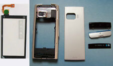 New faceplate housing cover case digitizer touch screen for Nokia X6 X6-00