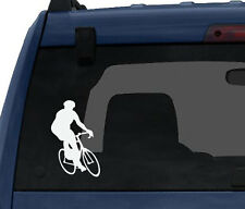 Sports Racing - Bicycling Cyclist Bike Biker version 4 - Car Tablet Vinyl Decal