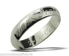 Personalized Promise Ring / Name Ring* Stainless Steel * YOU CREATE, I Engrave!