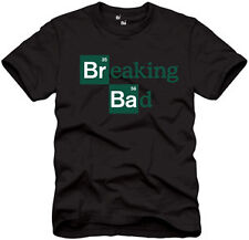 BREAKING BAD Logo Slim Fit T-Shirt S-XXL NEW!!
