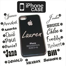 Personalised Engraved or Blank IPhone 4 4S 5 Aluminium i Phone Hard Case Cover