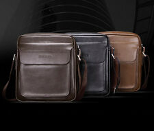 Genuine Leather Men's Handbag Messenger Shoulder Briefcase bag Purse Mens A997