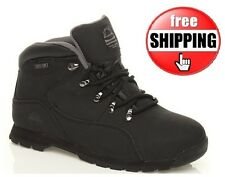 MENS STEEL TOE CAP BLACK TRAINER SAFETY BOOTS WORK ANKLE BOOT TRAINERS Sz 7-11