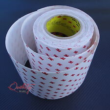 """Car Paint Protection Film Vinyl """"All Sizes"""" """" 3M The Trusted Brand"""""""
