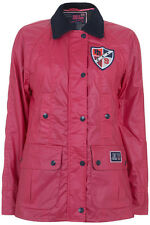 Pauls Boutique Waxed Hunter Jacket Coat BLACK or CORAL PINK Brand New! RRP £110