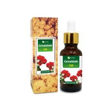 GERANIUM OIL 100% NATURAL PURE UNDILUTED UNCUT ESSENTIAL OIL 5ML TO 100ML