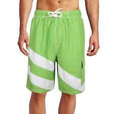 Men's Swim Trunk Board Shorts look Sandole S trunks Short Swimwear Speed LIME