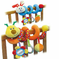NEW Baby Activity Soft Toy Spiral Rattle Cot Bed Car Seat Pram Pushcahir Buggy