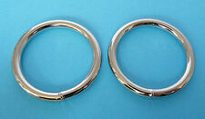 "38mm 1.1/2"" Welded O Circle Ring Nickel Nickle Plated Rings Handbags Belts Strap"
